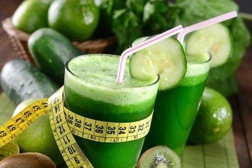 dieta di frullati verdi per perdere peso