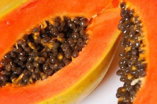 Papaya per punti neri