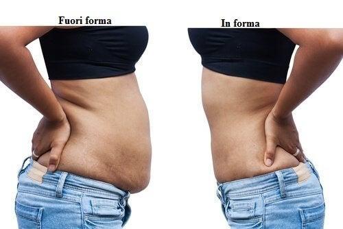 perdere peso fisico a pera