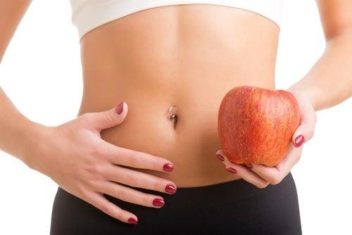 dimagrire con la buccia della mela