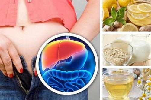 Bevande serali per disintossicare il fegato e perdere peso