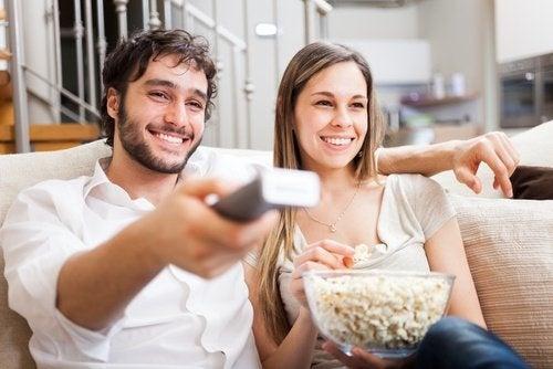 Guardare un film insieme
