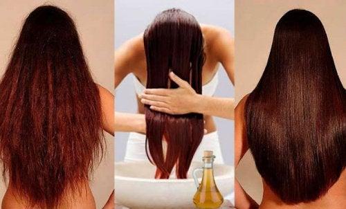 Balsamo naturale per capelli più forti