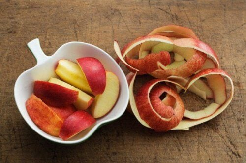 buccia delle mele