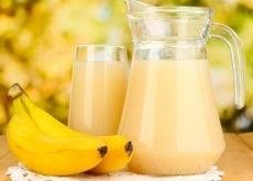 frullato di banana e patate per le ulcere gastriche