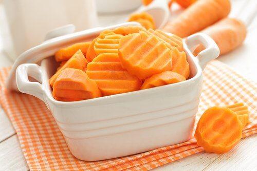 carote crude contro colite