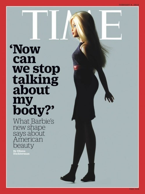 Copertina Time Barbie formosa