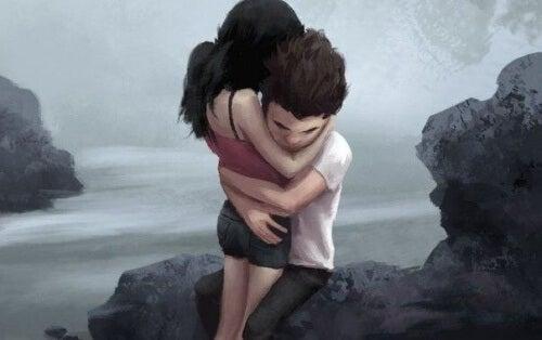 un abbraccio allontana le paure