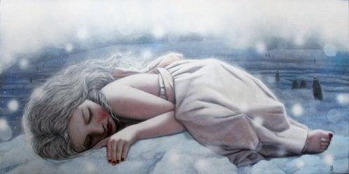 donna-addormentata