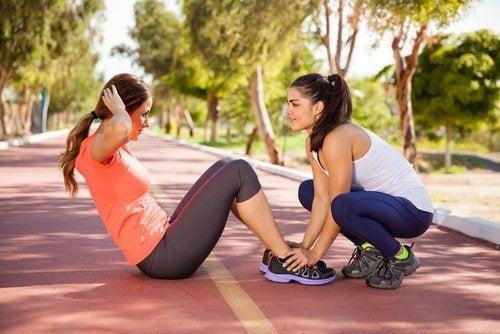 fare esercizio per aiutare il metabolismo