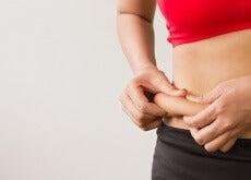 il grasso sull'addome