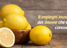 impieghi del limone
