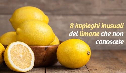 Impieghi inusuali del limone che forse non conoscete