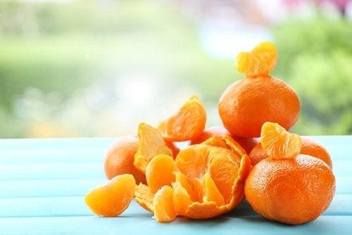 Maschere a base di mandarino per ringiovanire la pelle