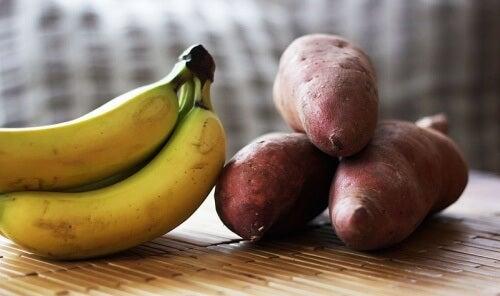 patate e banane