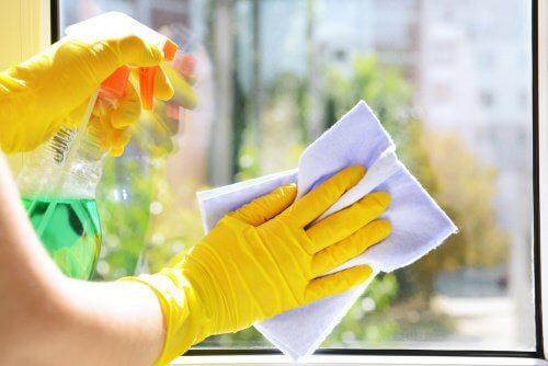 pulire i vetri impieghi del limone
