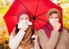 coppia con l'influenza