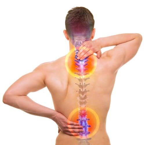 dolori causati dalla colonna vertebrale