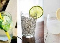 acqua detox di 3 tipi