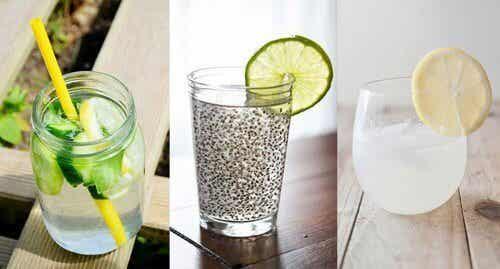 6 ricette di acqua detox per il corpo