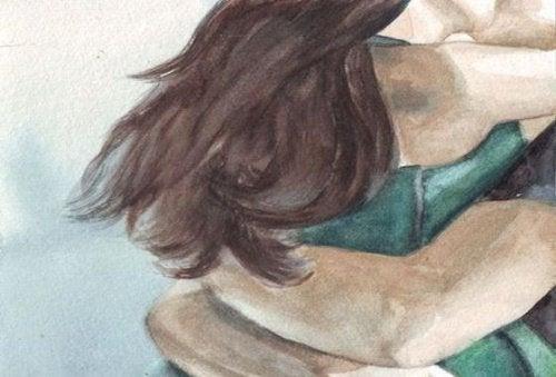 Voglio un abbraccio che mi tolga tutte le paure