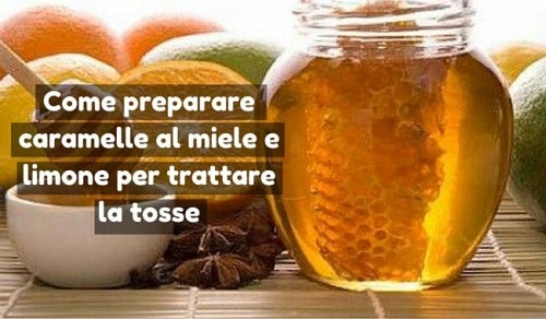 Come preparare caramelle al miele e limone per trattare la tosse