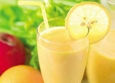 frullato mela limone pompelmo