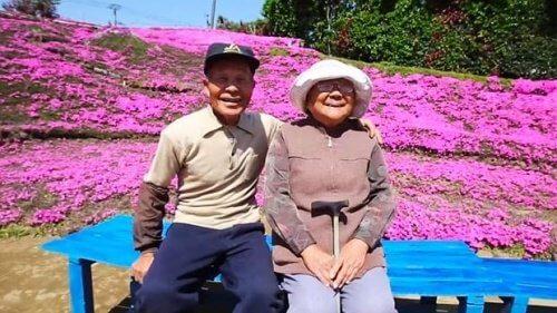 Migliaia di fiori per farne sentire l'odore alla moglie cieca