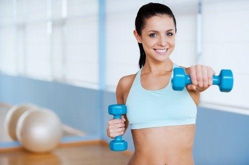 Stretching e tonificazione braccia flaccide