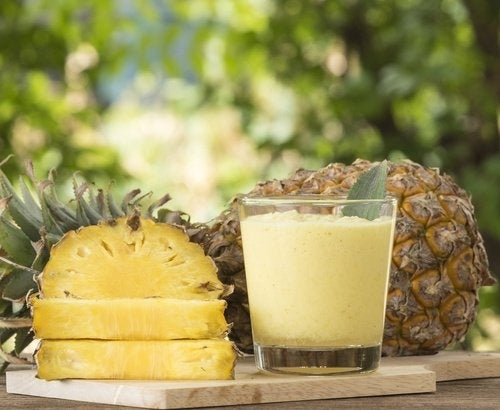 frullato ananas e avena