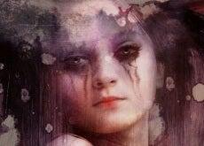 bambina triste essere forte