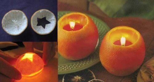 scorza d'arancia candela