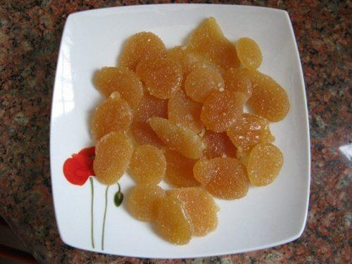 caramelle al miele e limone per la tosse