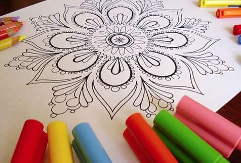 colorare i mandala