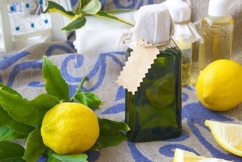 deodorante per ambienti al limone agrumi