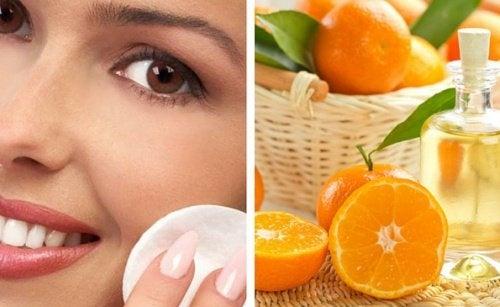 scorza d'arancia esfoliante