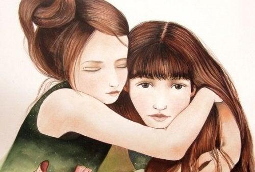 Una sorella è più di un'amica, è metà del nostro cuore