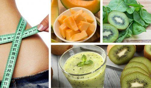 Frullato per perdere peso, energizzare il corpo e combattere l'anemia