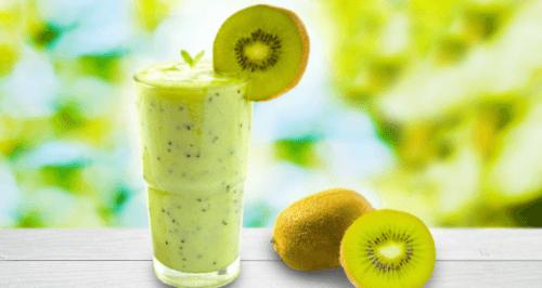 frullato di melone e kiwi per perdere peso