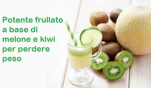 Melone e kiwi: un frullato per perdere peso