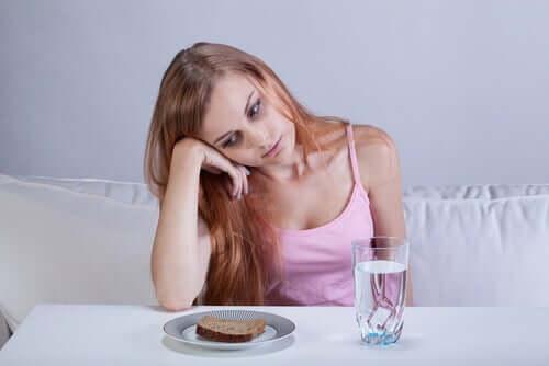 Mancanza di appetito