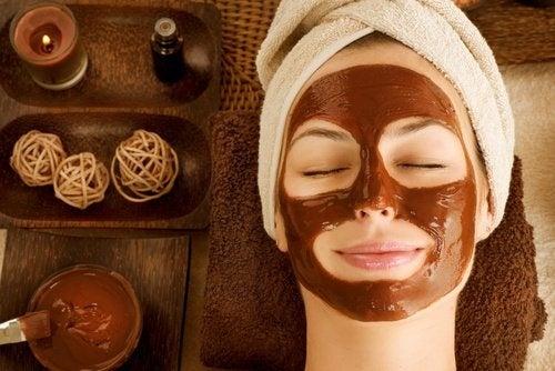 maschera il cioccolato