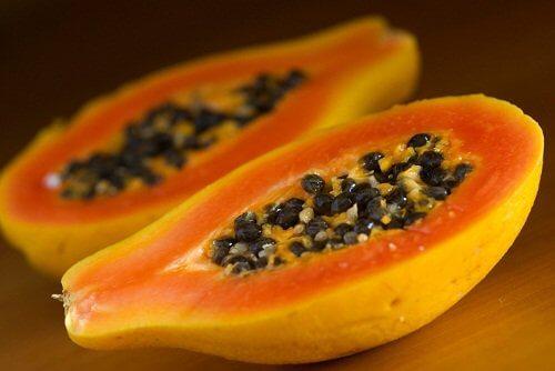 papaya unghie fragili