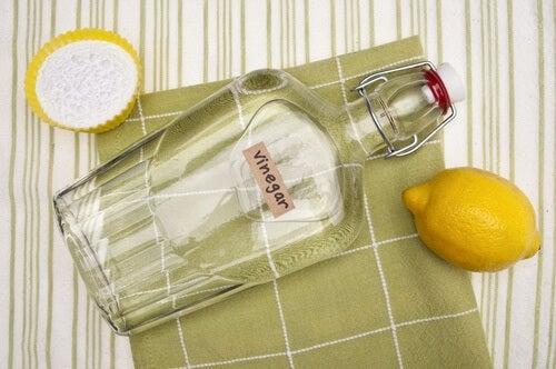 Aceto limone e bicarbonato