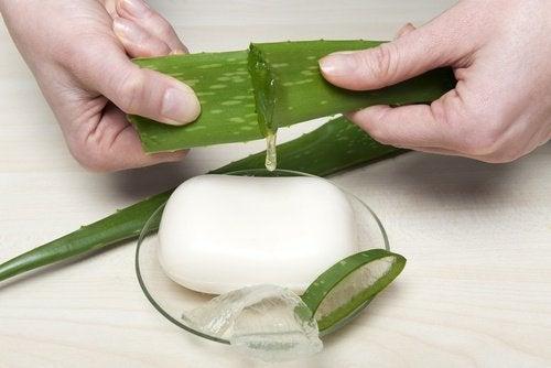 Aloe vera sapone idratante