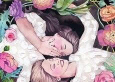 Amiche-fiori istanti