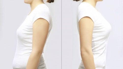 Cattiva-buona-postura il seno