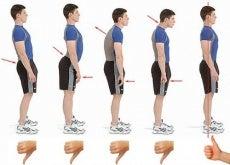 varie posture postura corretta