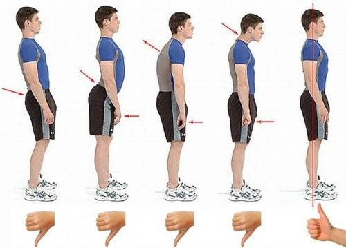 6 tecniche per mantenere una postura corretta