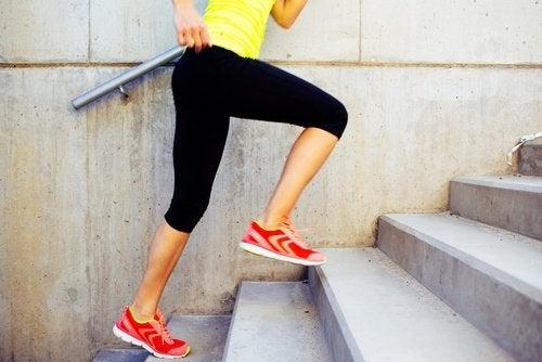 Salire le scale calorie